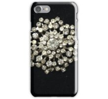 Vintage Rhinestone Crystals iPhone Case/Skin