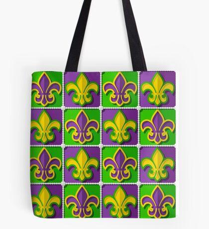 Mardi Gras  pattern Tote Bag