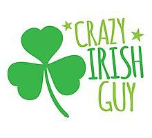 Crazy Irish Guy Photographic Print