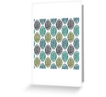 Traditional Style Throw Pilllow Greeting Card