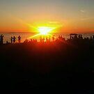 The Sunset Photographers  by laruecherie
