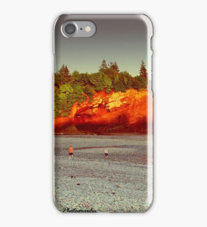 The Caves at St. Martins (Low Tide) iPhone Case/Skin