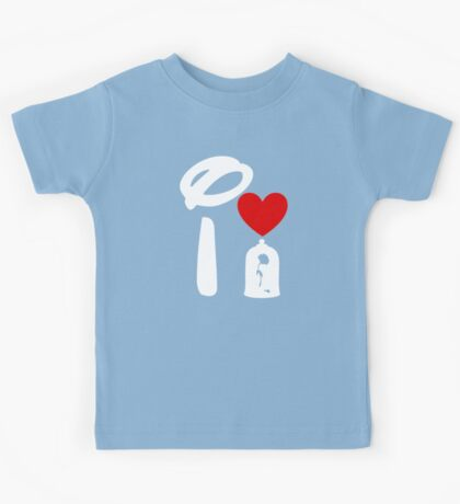 I Heart Beauty and The Beast (Inverted) Kids Tee