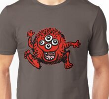 Cute Cartoon Red Monster by Cheerful Madness!! Unisex T-Shirt