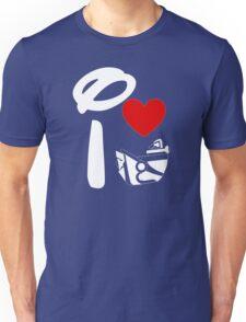 I Heart Astro Blasters (Inverted) Unisex T-Shirt