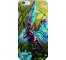 We Ride at Dawn - Mouse Warrior Riding Fairy Dragon iPhone Case/Skin