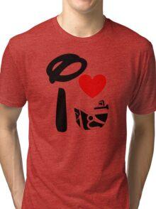 I Heart Astro Blasters Tri-blend T-Shirt