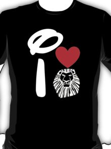I Heart The Lion King (Inverted) T-Shirt