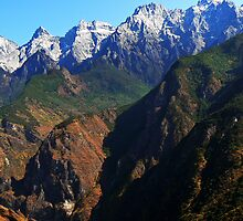 Tiger Leaping Gorge by bfokke