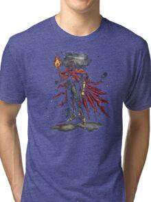 Epic Vincent Valentine Portrait Tri-blend T-Shirt