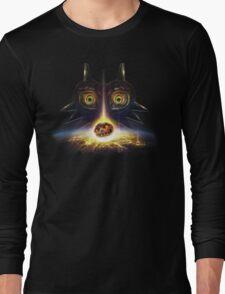 Legend of Zelda Majora's Mask Operation Moon Fall Long Sleeve T-Shirt