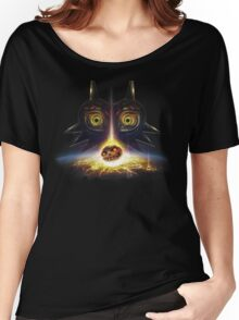 Legend of Zelda Majora's Mask Operation Moon Fall Women's Relaxed Fit T-Shirt