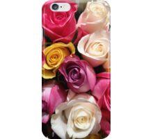 Multi Colored Roses iPhone Case/Skin