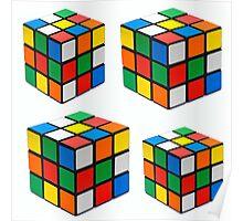 Rubiks Cuboid Poster