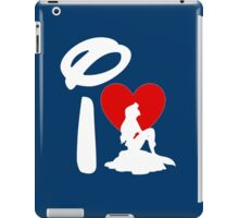 I Heart Little Mermaid (Inverted) iPad Case/Skin