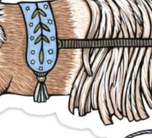 The Nimble Thimble Keeper Sticker