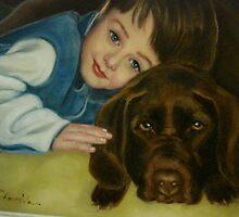 Sean and Jegar by Cathy Amendola
