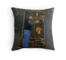 Cage View Throw Pillow