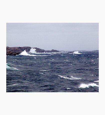 October Storm (1) Photographic Print