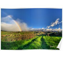 UpCountry Rainbow Poster