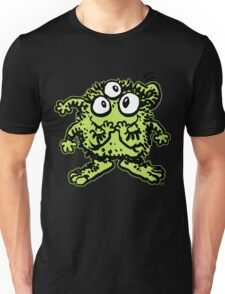 Cute Cartoon Green Monster by Cheerful Madness!! Unisex T-Shirt