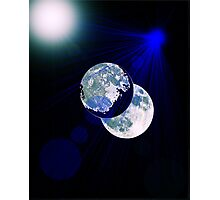 Dark Side of the Moon Photographic Print