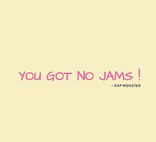 YOU GOT NO JAMS - YELLOW by Kpop Seoul Shop