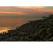James River Sunset Photographic Print