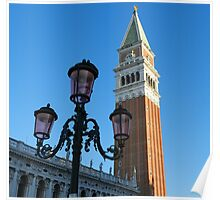 The Campanile of St. Mark Poster