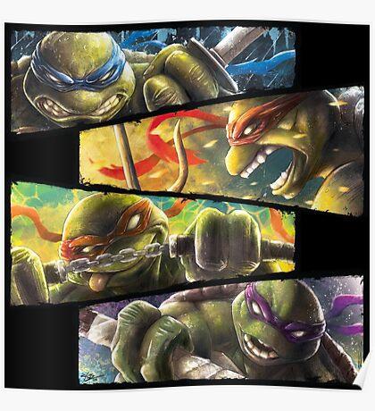 TMNT - Turtle Power Poster