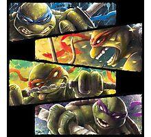 TMNT - Turtle Power Photographic Print