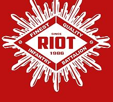 Riot White by Ashley Evans