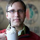 Me having hot cocoa by Andrew Boysen