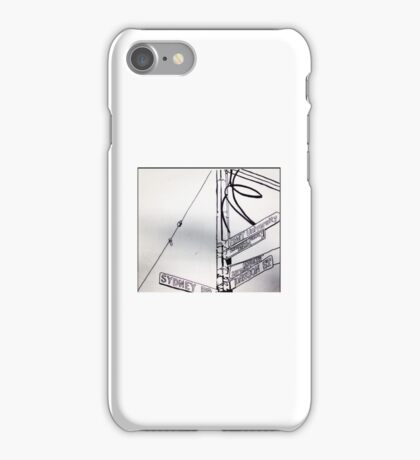 Welcome to Sydney Rd iPhone Case/Skin