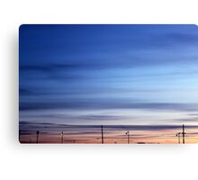 Evening Sky | Rocky Point, New York  Canvas Print