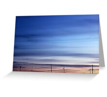 Evening Sky | Rocky Point, New York  Greeting Card