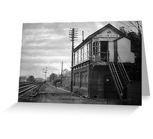 Harpenden Station Signal Box Greeting Card