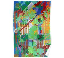 Under the Ten (x2)  Maple Trees Poster