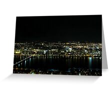 Boston Nights Greeting Card