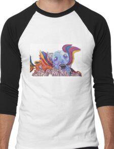 The Sea of Air (Portugal. The Man Inspired Art) Men's Baseball ¾ T-Shirt