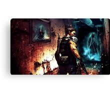 Resident Evil : what a work!! :o Canvas Print