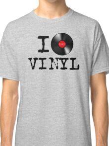 I Heart Vinyl Classic T-Shirt