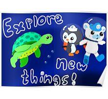 Explore, Rescue, Protect! Poster