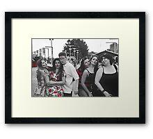 Red Kisses Framed Print