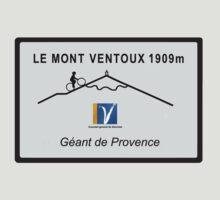 Mont Ventoux Cycling Road Sign Tour De France T-Shirt