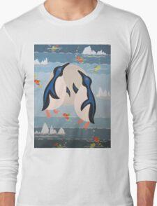 Penguin Pair Long Sleeve T-Shirt