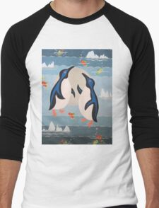 Penguin Pair Men's Baseball ¾ T-Shirt