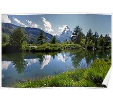 Matterhorn Reflections Poster