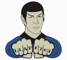 Spock Fist Tattoos One Piece - Short Sleeve