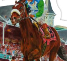 Race of A Lifetime (open sky series) Sticker